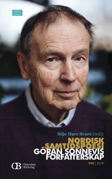 Cover for Nordisk samtidspoesi: Göran Sonnevis forfatterskap