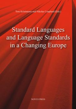 Cover for Standard Languages and Language Standards in a Changing Europe
