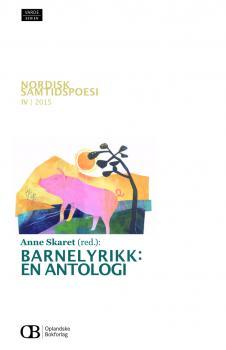 Barnelyrikk: En antologi - Omslag