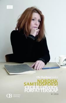 Cover for Nordisk samtidspoesi: Cecilie Løveids forfatterskap
